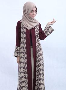 101 Gambar Outer Batik Kekinian